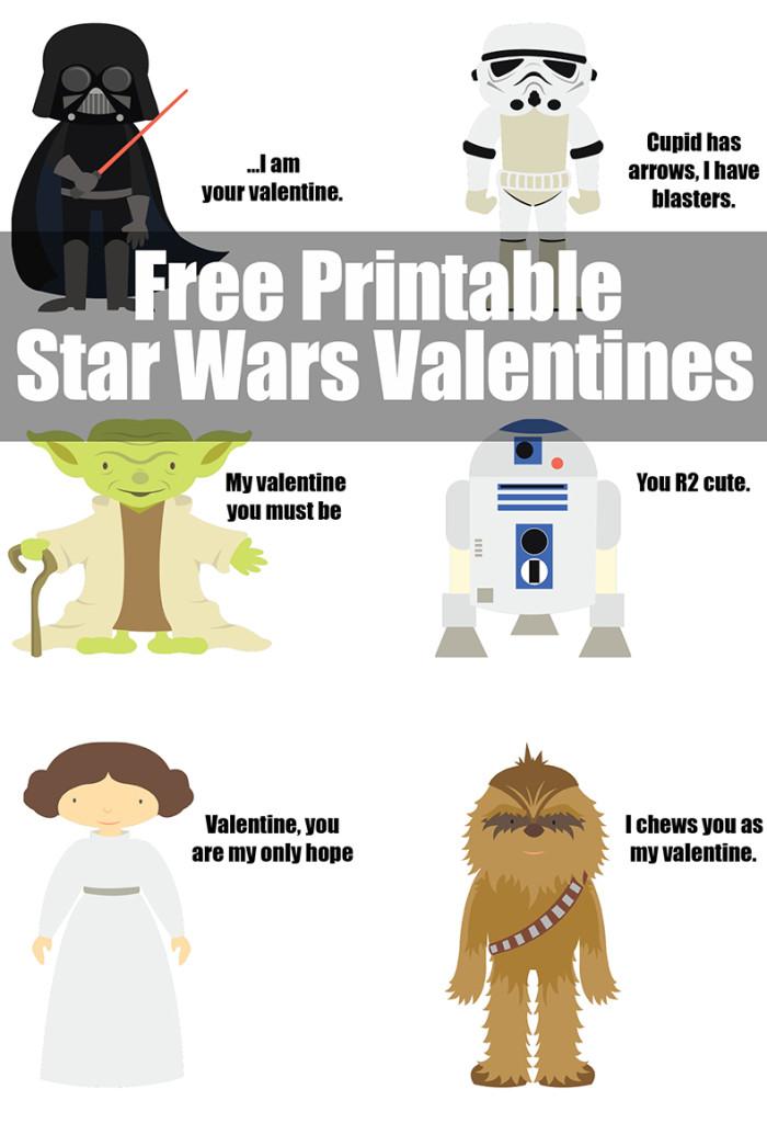 Robertu0027s Star Wars Valentines