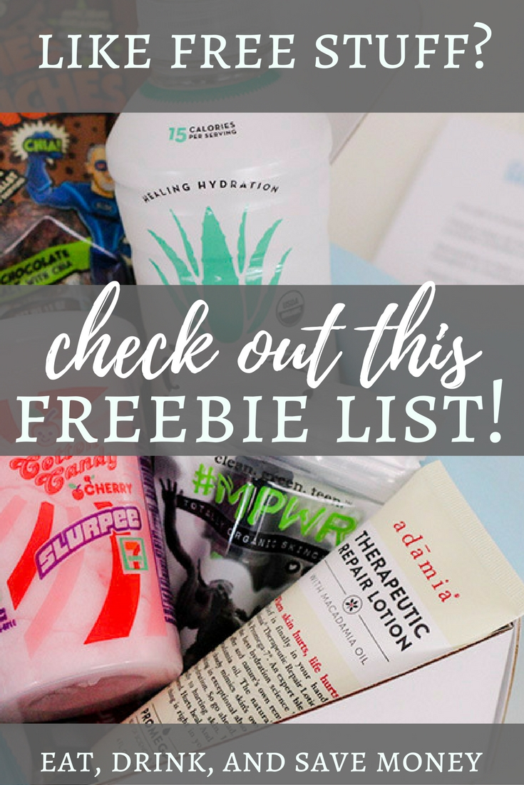 Free stuff that you can get in the mail in exchange for reviews