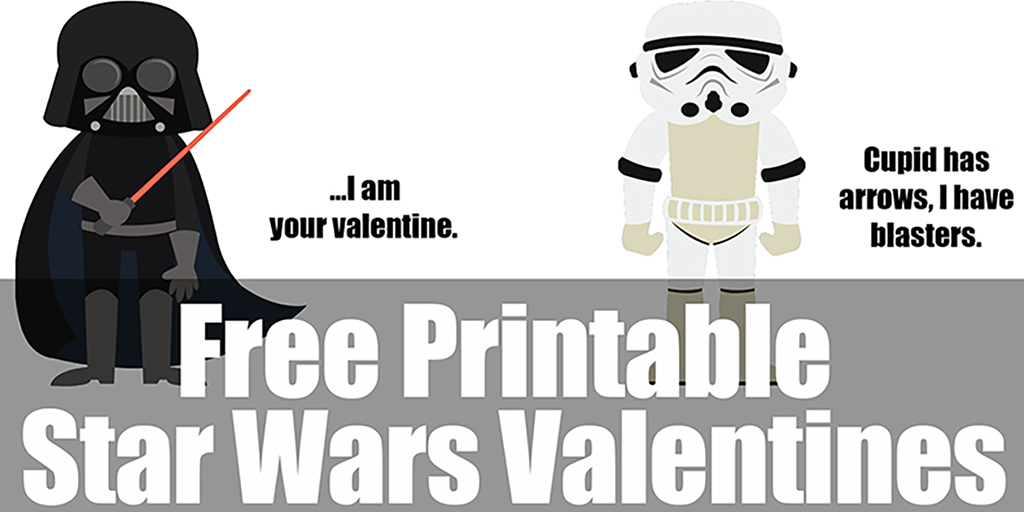 image regarding Star Wars Printable identify Printable Star Wars Valentines - Take in, Consume, and Help you save Economic
