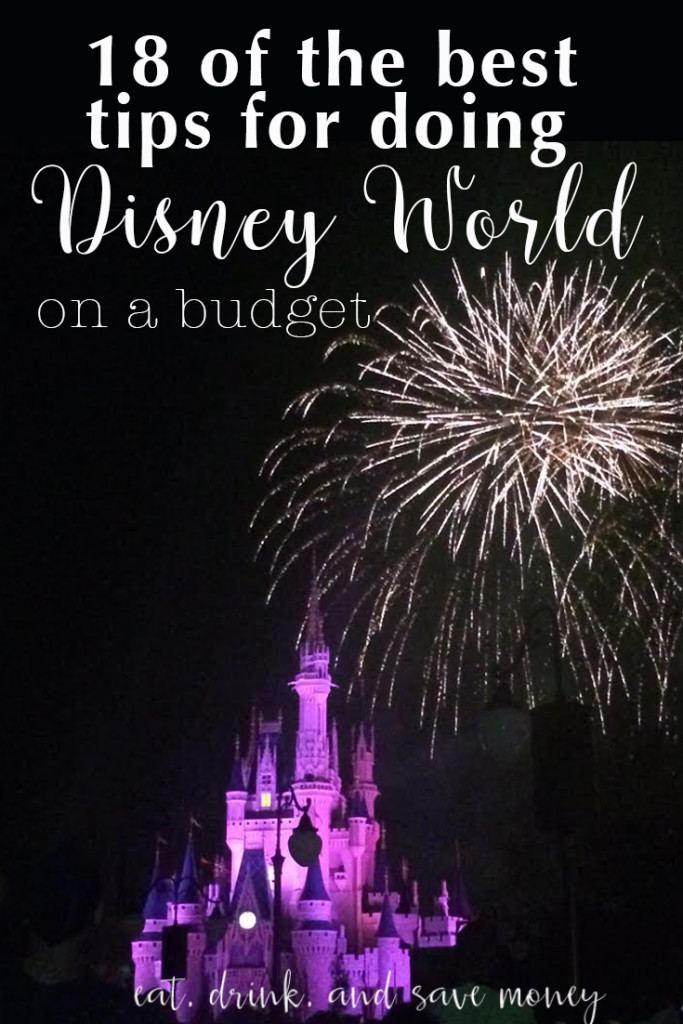 18 of the best tips for doing Disney World on a budget