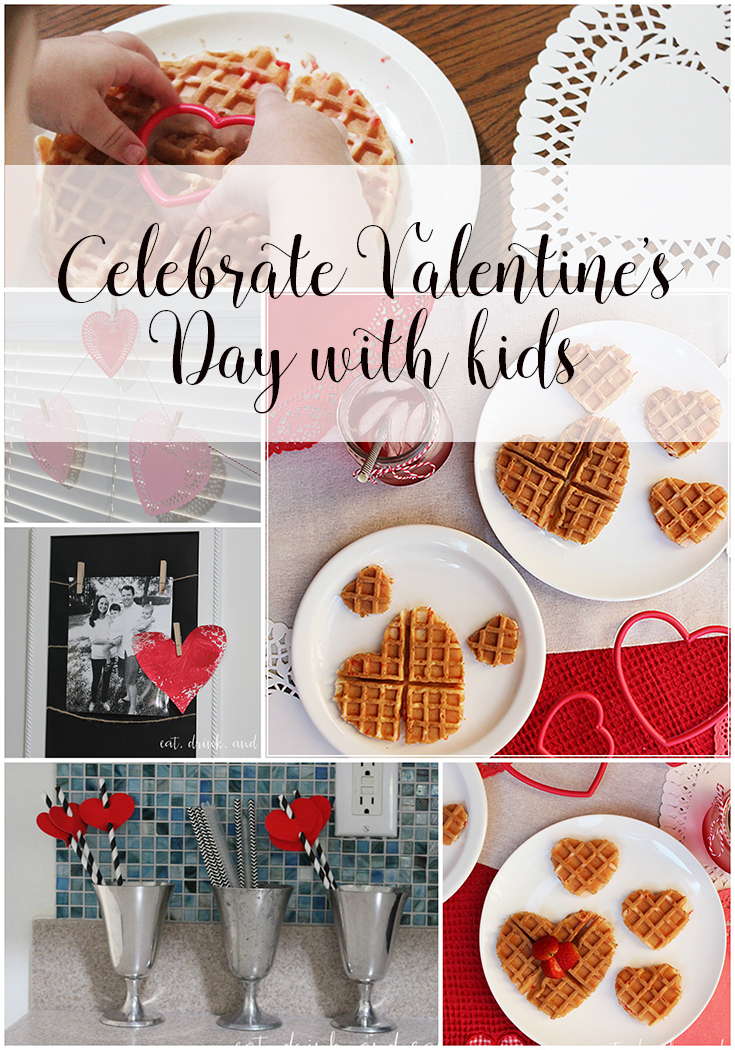 Celebrate Valentine's Day with kids