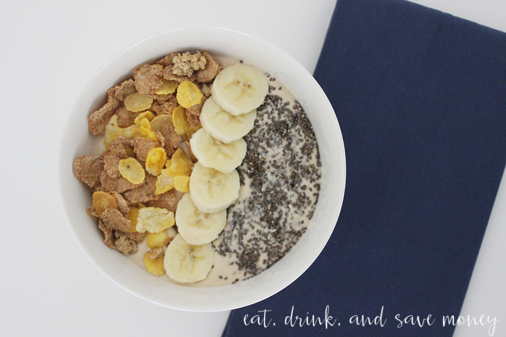 Peanut Butter & Banana Smoothie Bowl