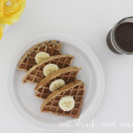Guilt free indulgence: Nutchello + waffles