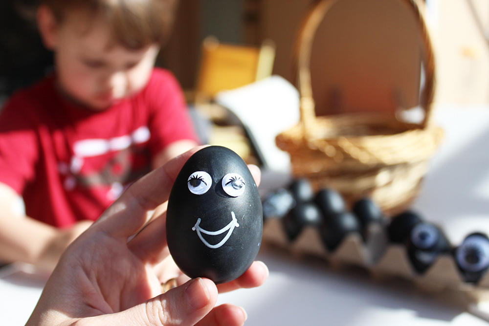 Easter eggs are so easy with googly eyes