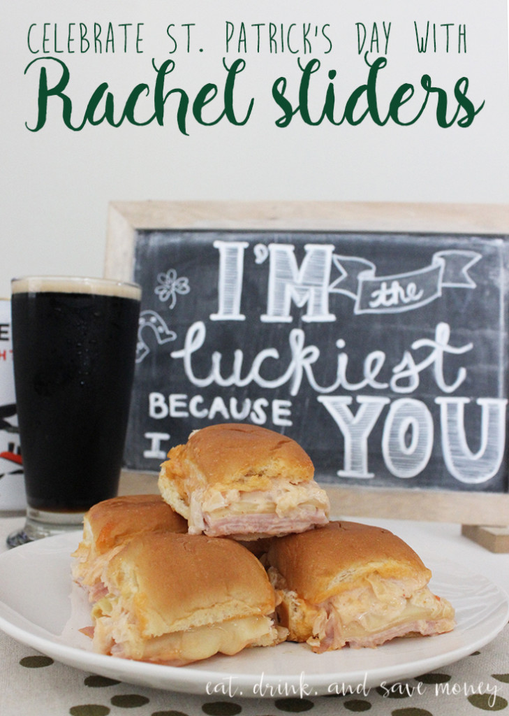 St. Patricks Day Rachel Sliders