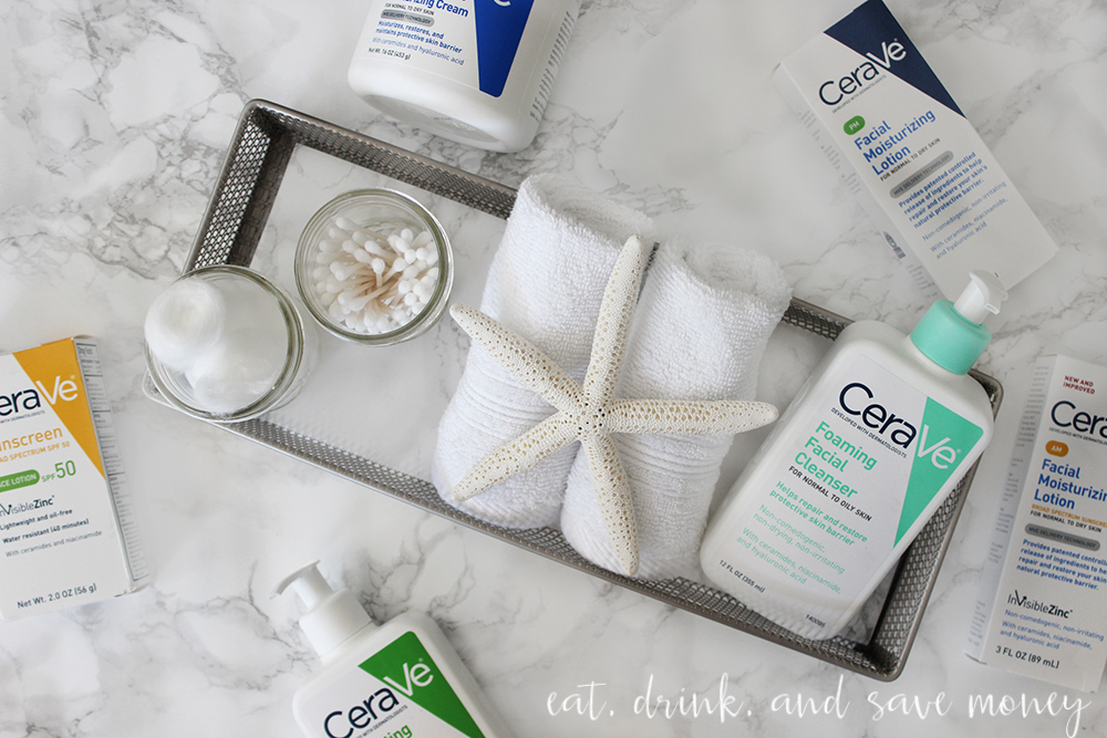 5 minutes to create a relaxting nighttime skin care routine