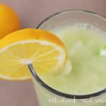 Boozy frozen lemonade recipe
