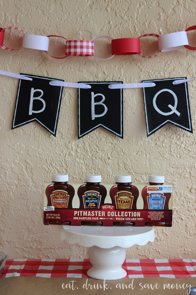 Heinz bbq sauces are perfect for a bbq taste test party. #MadewithMasters #heinzbbq