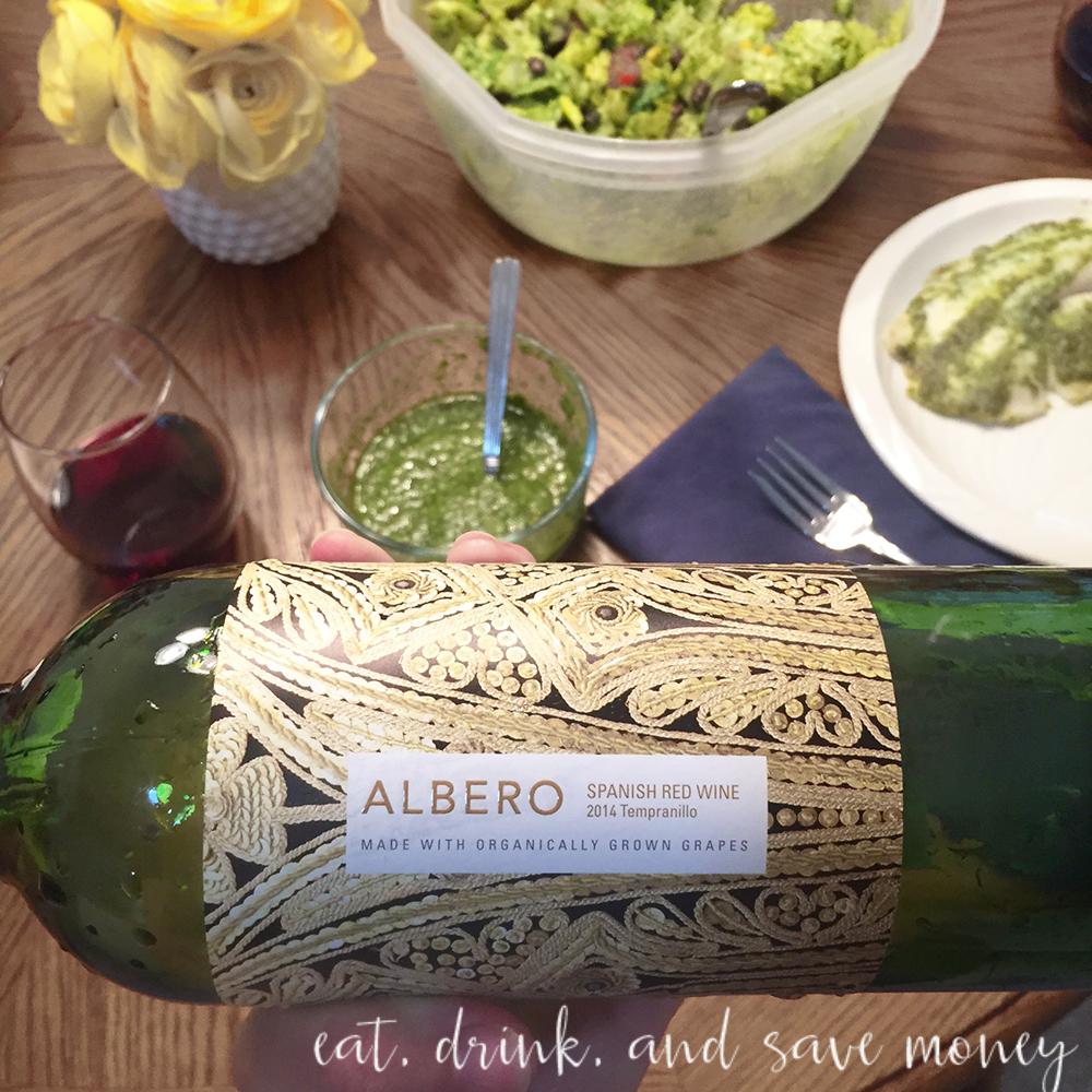 Alberto wine from trader joe's