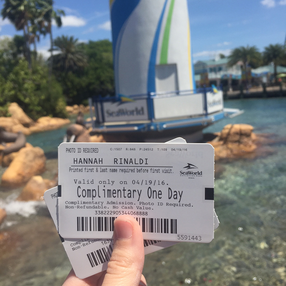 Sea World Ticket