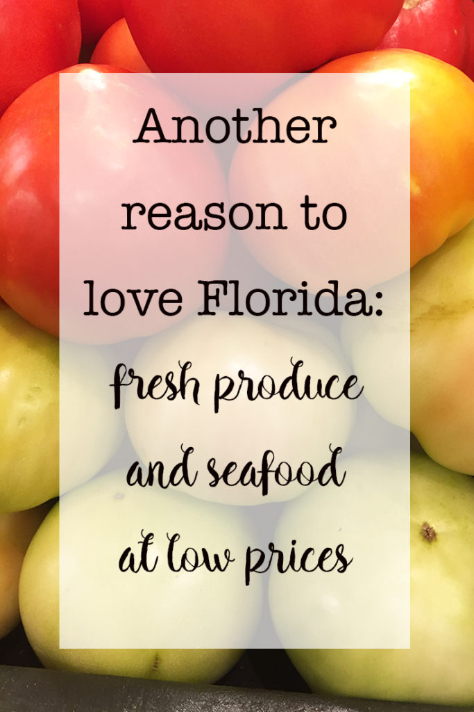 Another reason to love Florida fresh produce and seafood at low prices Fresh From Florida