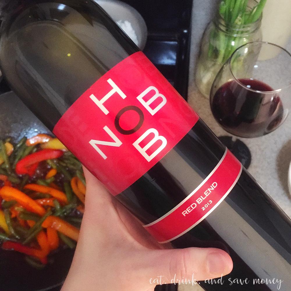 Hob nob wine