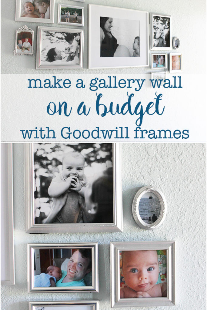 Make a gallery wall on a budget with Goodwill frames - Eat, Drink ...