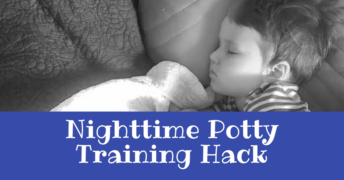 Nighttime Potty Training Hack