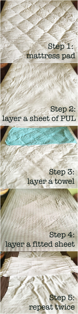 potty training hack for sheets tutorial
