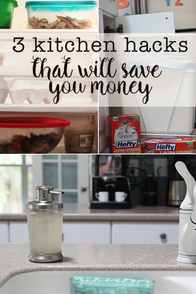 3 kitchen hacks that will save you money