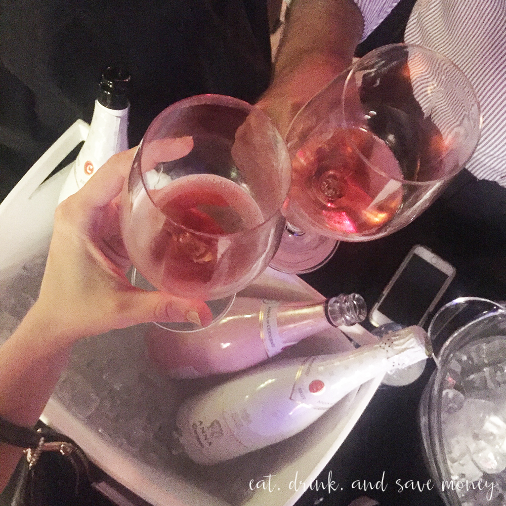 Cheers at the Grape Celebration