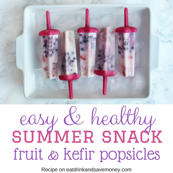Easy & Healthy summer snack square