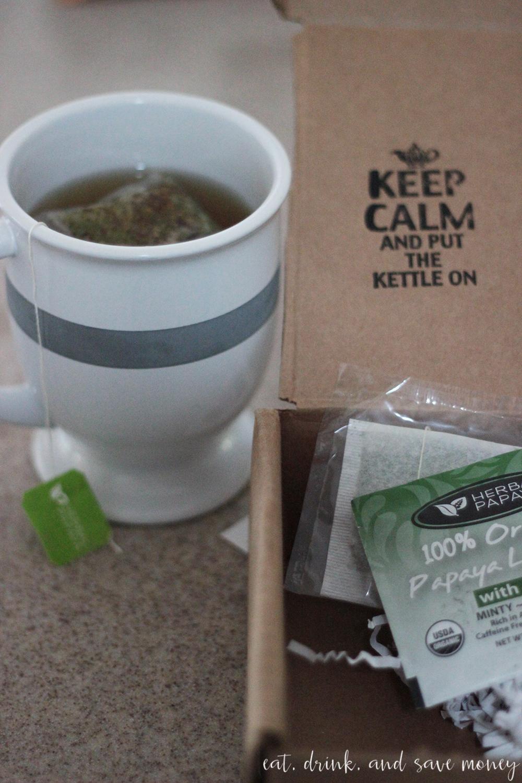 Herbal Papaya tea