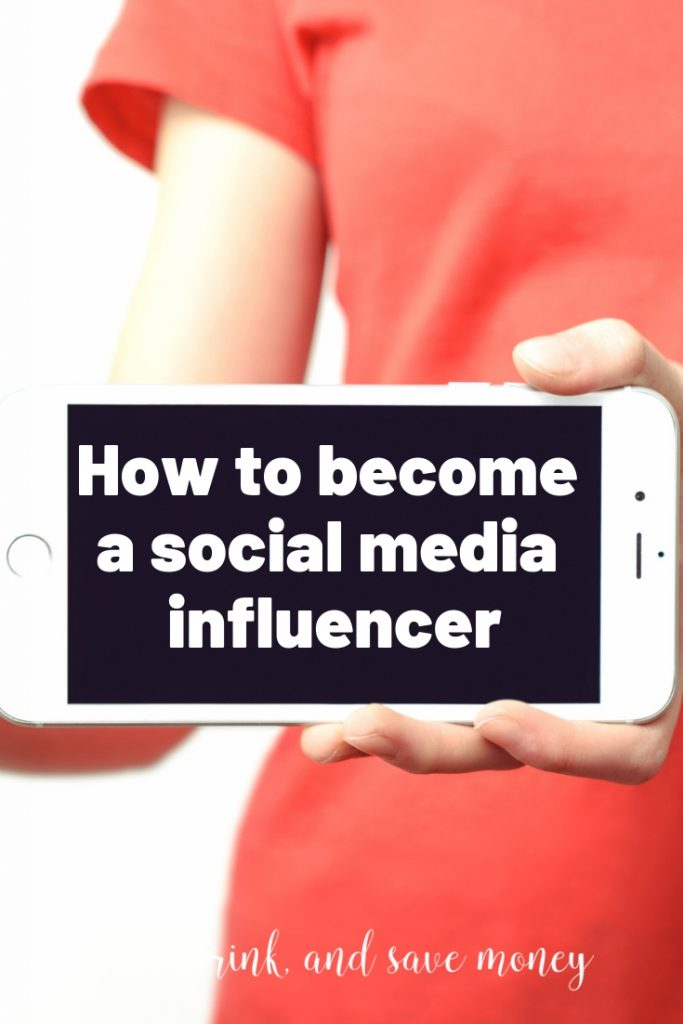 Want to make money online? Learn how to become a social media influencer with these influencing tips. #socialmedia #influencer
