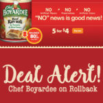 Awesome Chef Boyardee Deal!