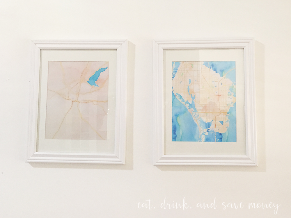 DIY map artwork from stamen