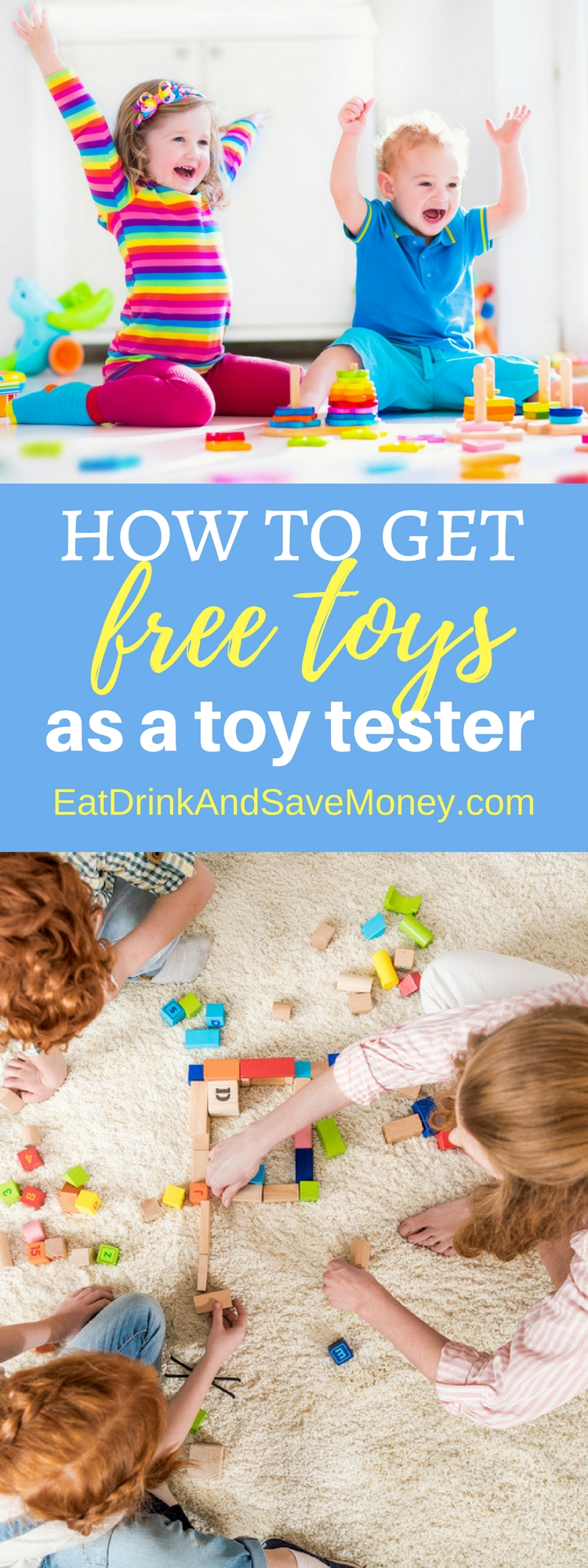 How to get free toys as a toy tester. Get free toys by signing you kid up as a toy tester. Save money on toys.