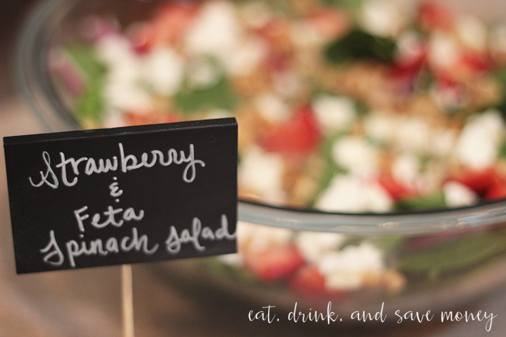 Lovely chalkboard signs for parties