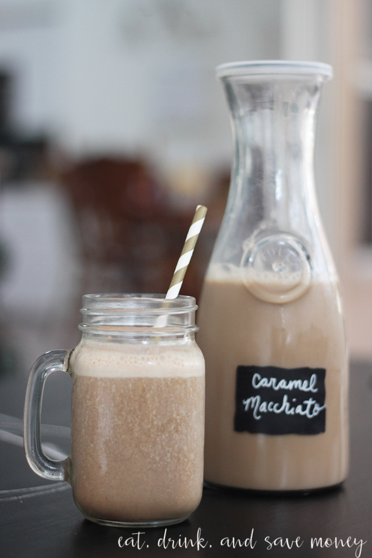 Turn iced coffee into a smoothie and make a morning macchiato smoothie