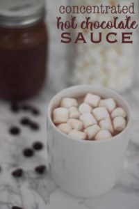 Concentrated hot chocolate sauce recipe that will make everyone happy. This is the last hot chocolate recipe you will ever need.