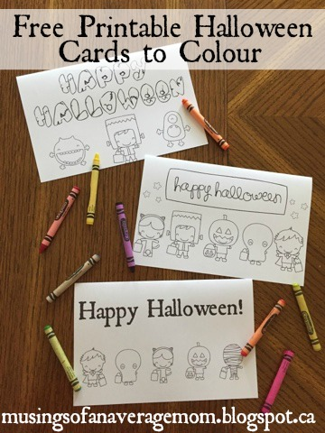 share the wealth sunday free halloween cards to color