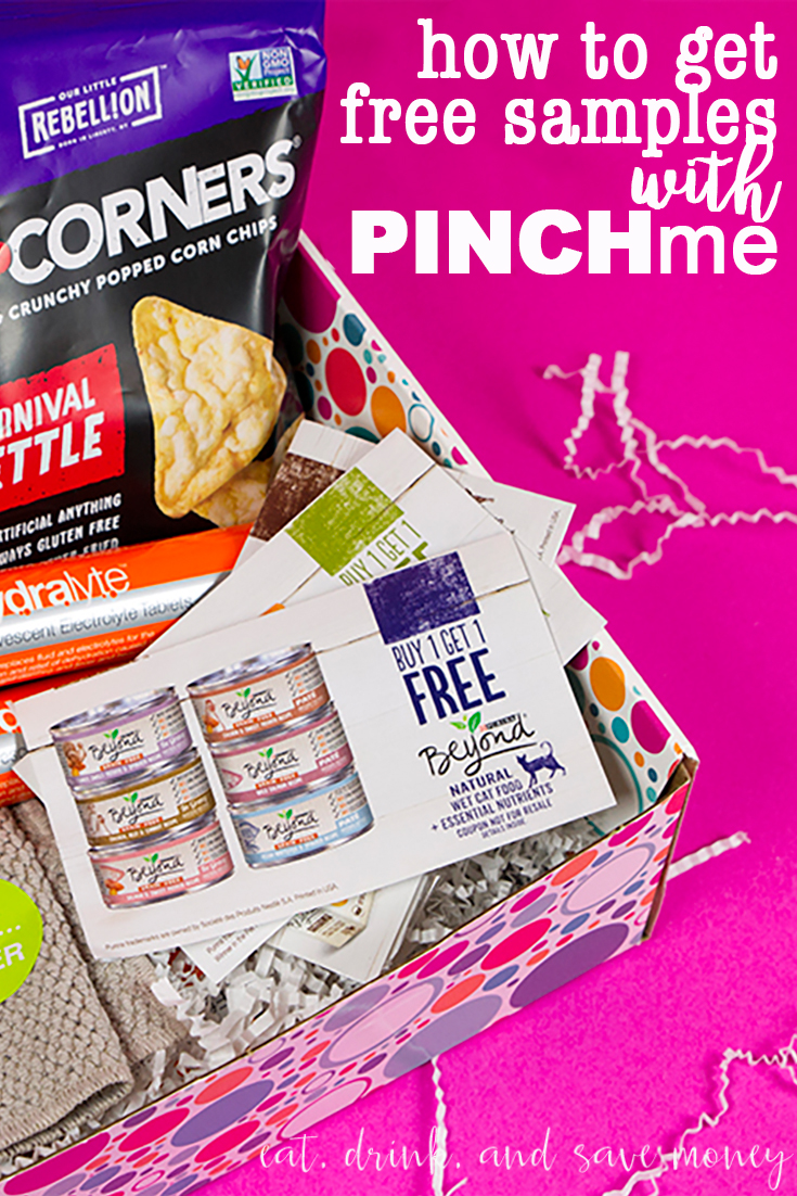 how to get free samples with pinch