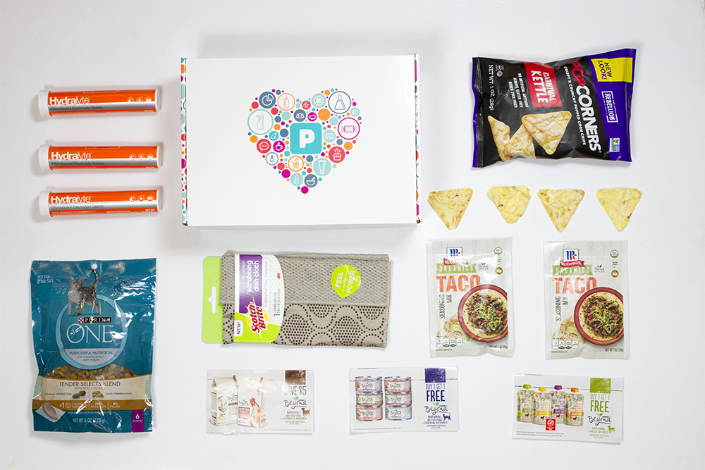 free samples with Pinchme