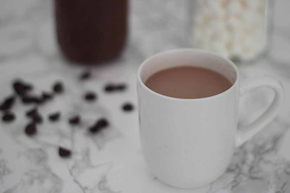 The best ever hot chocolate that everyone will love. It's a recipe for concentrated hot chocolate sauce. Hot chocolate recipe.