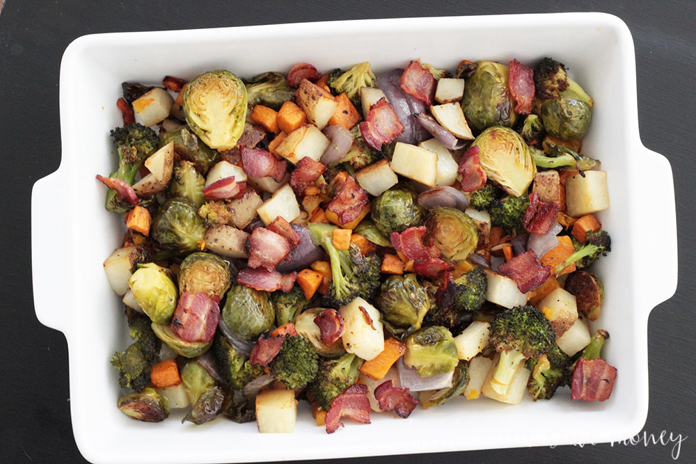easy roasted vegetables for fall