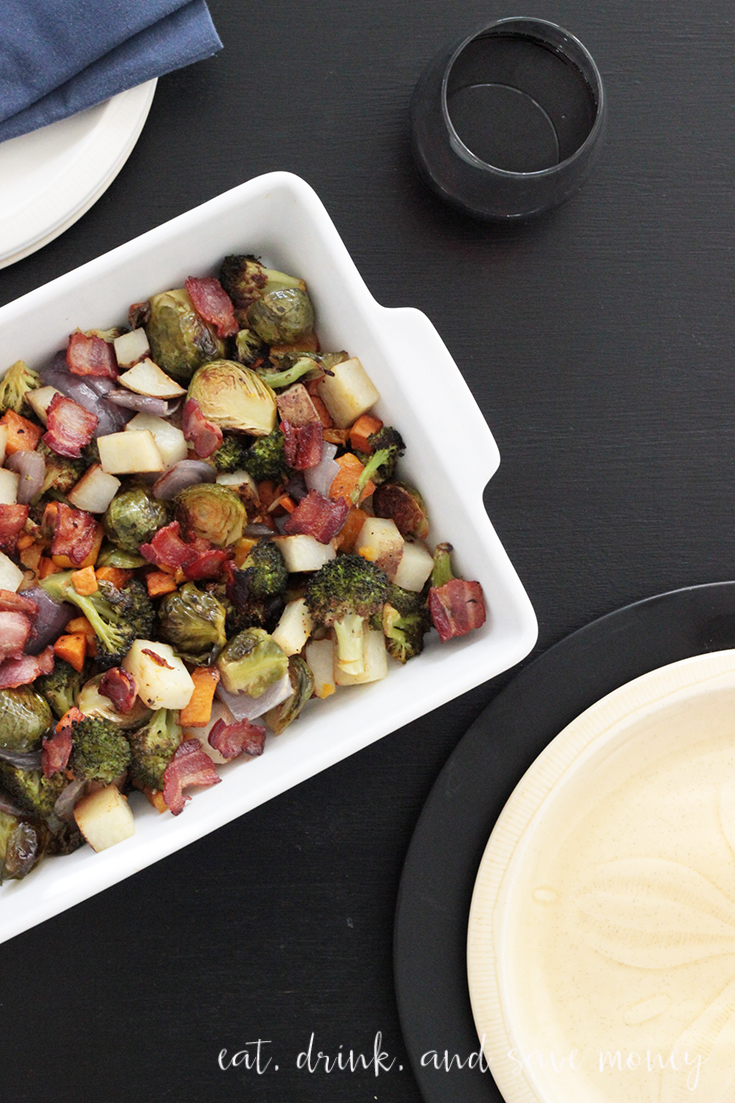Make this roasted vegetable recipe for #Thanksgiving or #Christmas. This #recipe is so easy and delicious #christmasrecipe #fallrecipe #thanksgivingrecipe