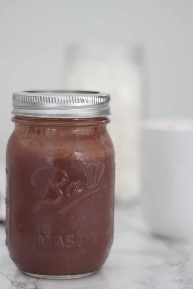Concentrated hot chocolate sauce. The best ever hot chocolate recipe that everyone will love. Concentrated hot chocolate sauce recipe that will make everyone happy. This is the last hot chocolate recipe you will ever need.