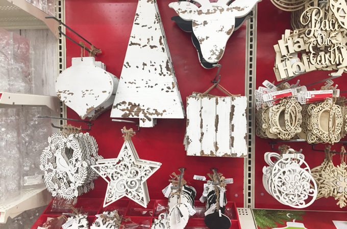 Holiday decor at rock bottom prices
