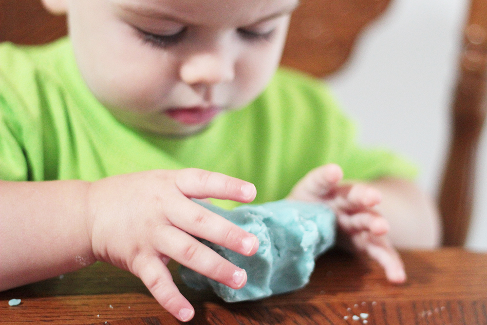 jackson-getting-serious-with-some-play-dough