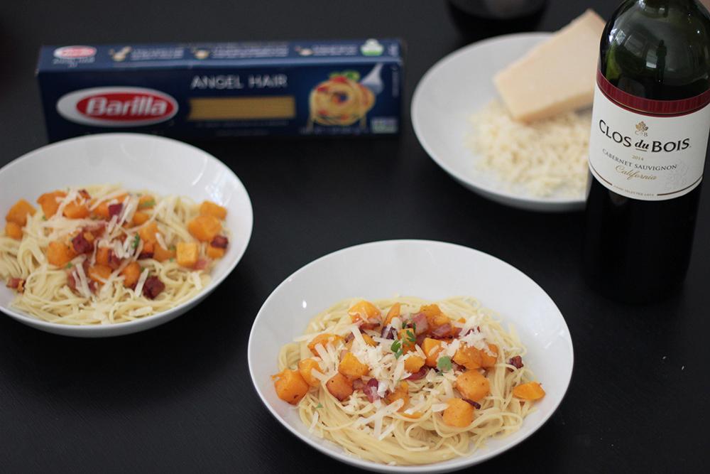 butternut-squash-over-pasta-recipe