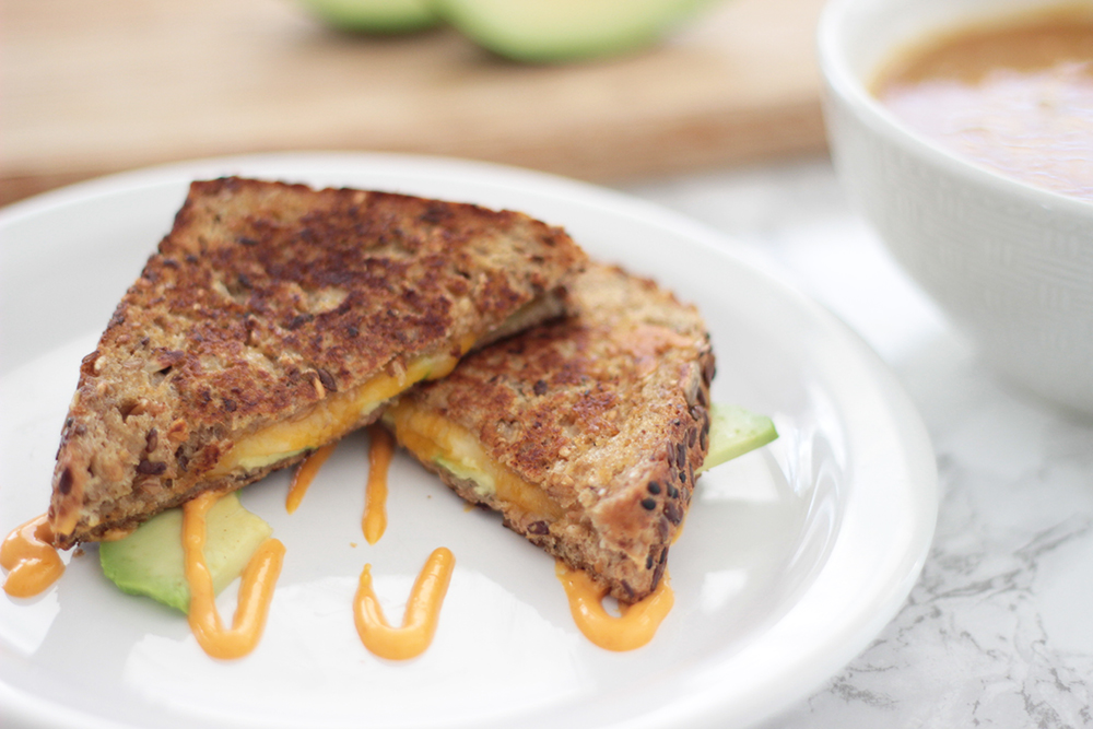 Super simple southwest grilled cheese recipe