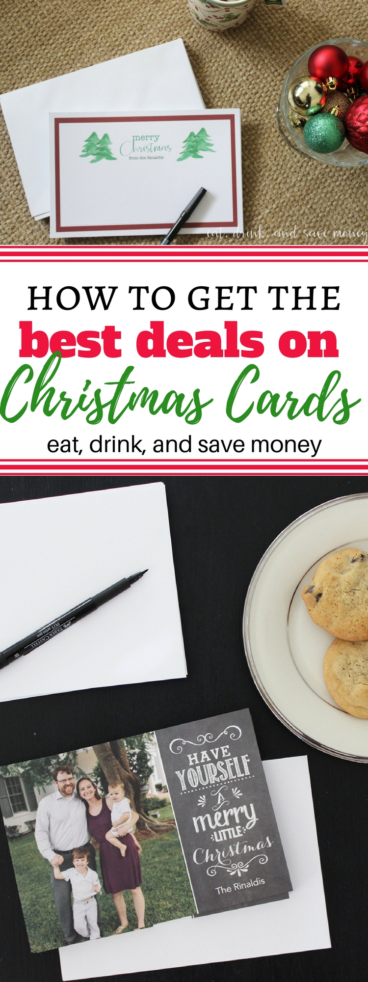 How to Get the Best Deals on Christmas Cards | Christmas on a Budget
