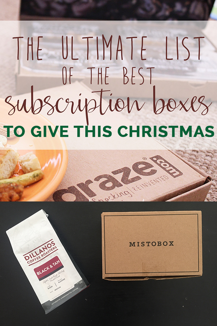 The ultimate list of the best subscription boxes to give this Christmas