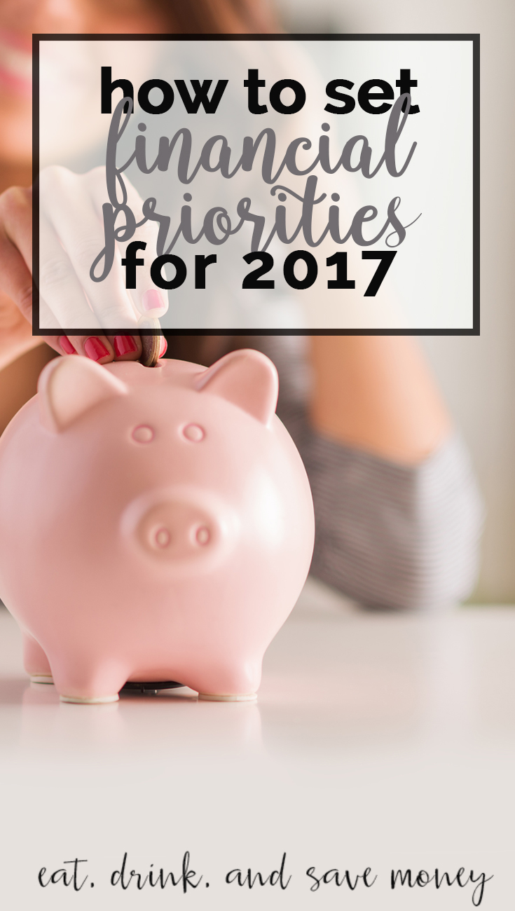 Don't know where to start when it comes to setting financial priorities? How to set financial priorities for 2017