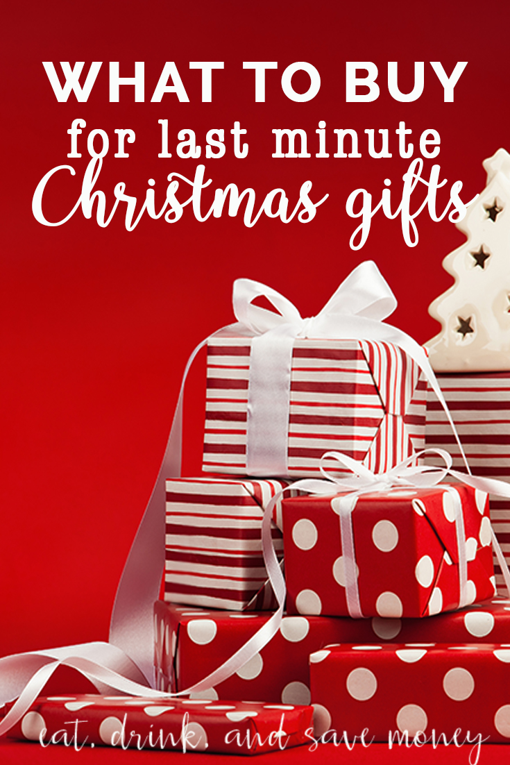 5 of the best last minute Christmas gifts - Eat, Drink ...