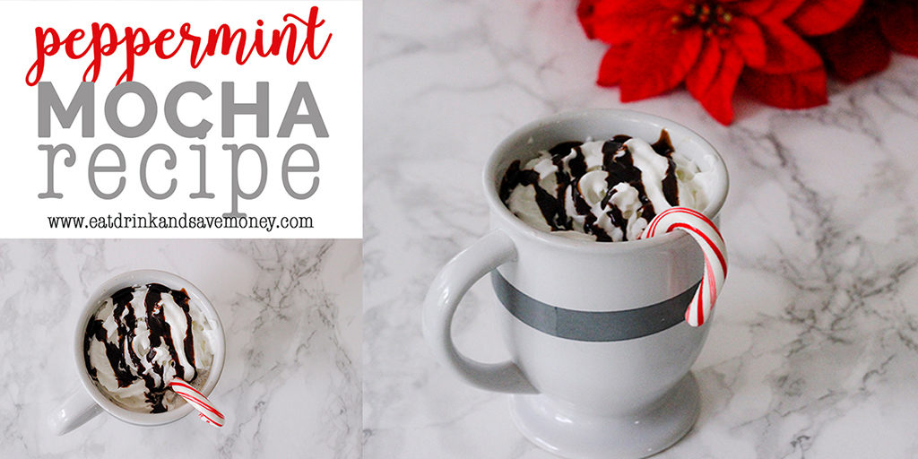 Peppermint mocha recipe to save money on takeout coffee