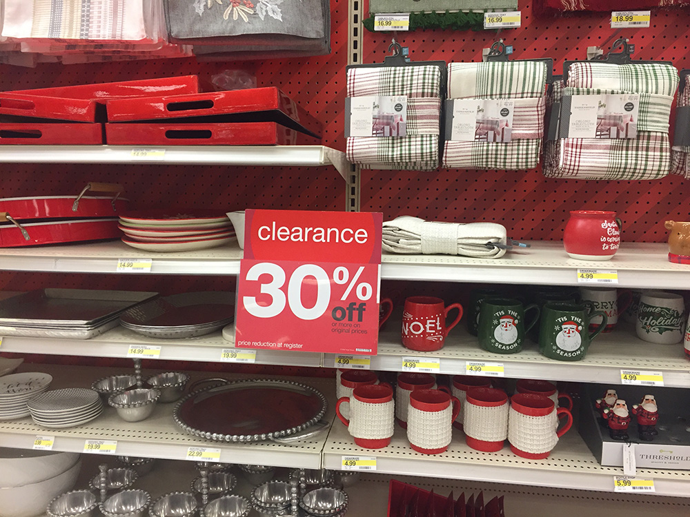 Week in review Target after holiday sales