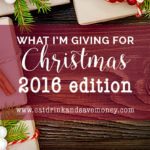 What I'm giving for Christmas – 2016 edition