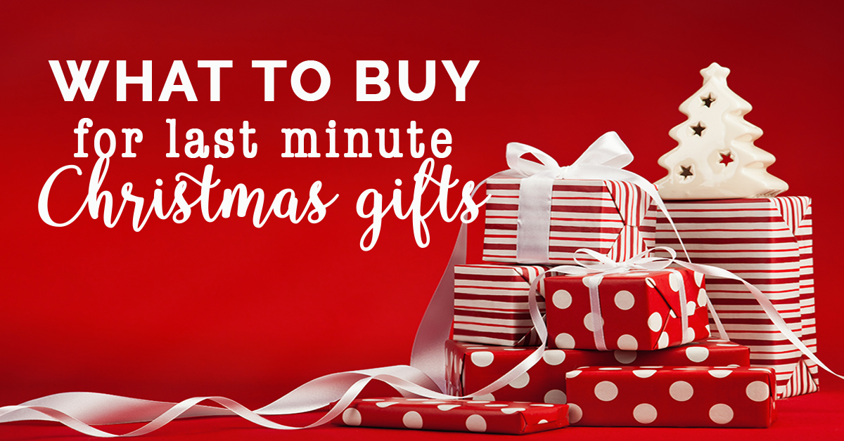 What to buy as last minute Christmas gifts fb