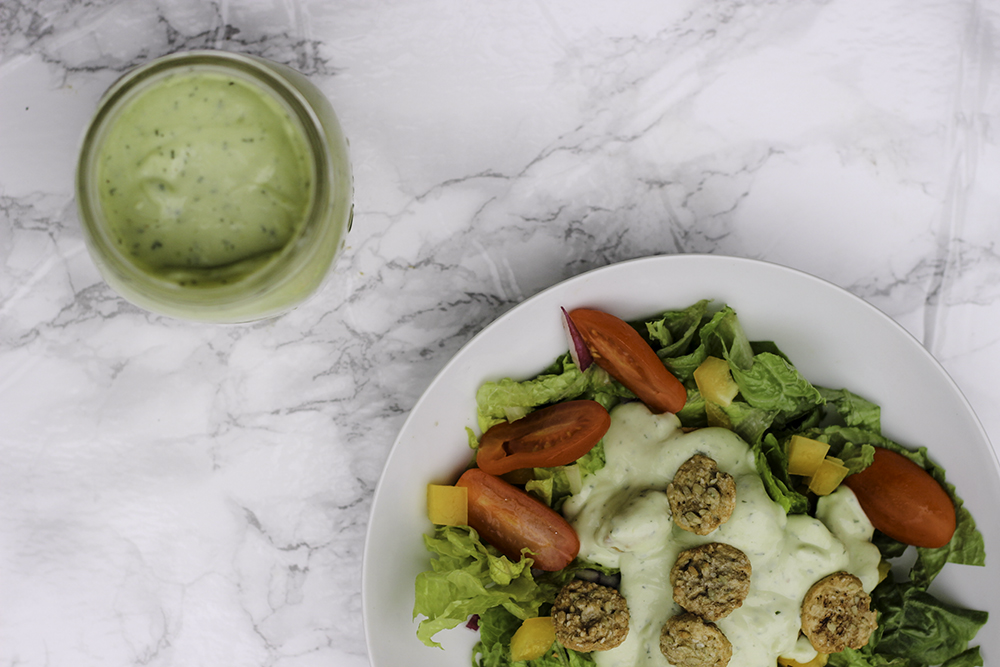 Enjoy this amazing recipe for avocado ranch dressing